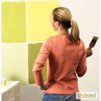 Покраска стен в Киеве