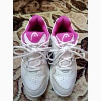 Продам женские кроссовки б/у для большого тенниса фирма HEAD