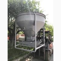Емкость для бетона, бункер, бадья