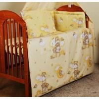 Набор постельного белья в кроватку 7 предметов