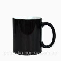 Чашка Хамелеон черный олень 330мл