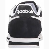 Кроссовки Reebok CL Leather Ripple Low Black White Черные мужские