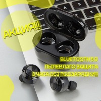 Беспроводные наушники Air Twins A6 TWS 5.0 Bluetooth с кейсом !!Топ Качество
