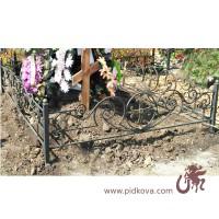 Изготовление и установка оградок, кованые оградки, оградки на кладбище