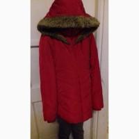 Красная курточка на синтепоне