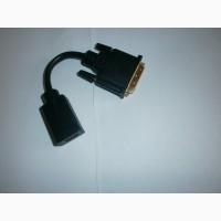 Адаптер переходник DVI папа- HDMI мама