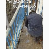 Устройство стяжки пола на балконе. Ремонт цементного пола. Киев