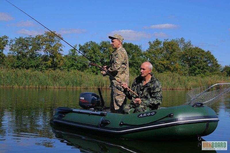резиновая лодка для охоты с мотором