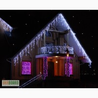 Украшение дома к Новому году, новогоднее оформление витрин, гостиниц, ресторанов, кафе