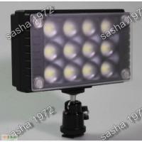 Мощный 12 светодиодов, накамерный свет WanSen W12