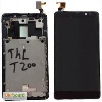 Дисплей+тачскрин для THL T200