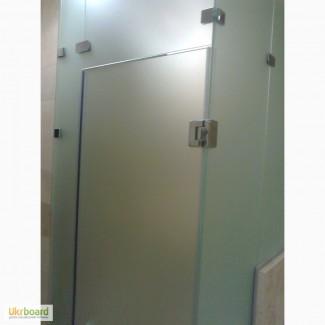 Изготовление нестандартных стеклянных дверей межкомнатных и для душевой кабины