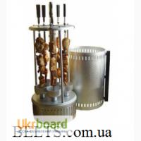 Домашняя электрошашлычница, вертикальная шашлычница Kebabs Machin