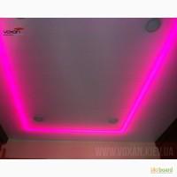 LED подсветка натяжного потолка. Натяжные потолки с LED подсветкой в Киеве и области