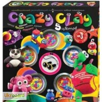 Масса для лепки Crazy Clay ТМ Danko Toys