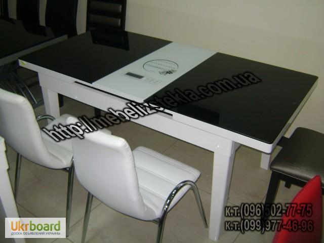 Фото 10. Столы и стулья. Теплота и свежесть от дизайна стеклянных столов