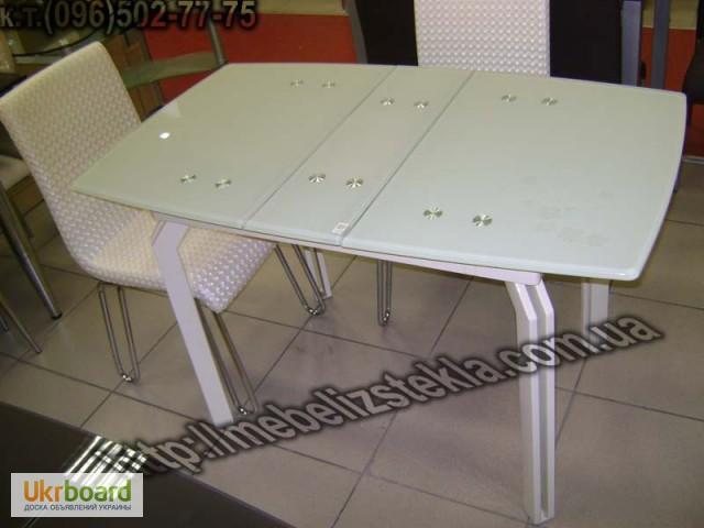 Фото 11. Столы и стулья. Теплота и свежесть от дизайна стеклянных столов