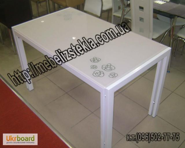 Фото 14. Столы и стулья. Теплота и свежесть от дизайна стеклянных столов