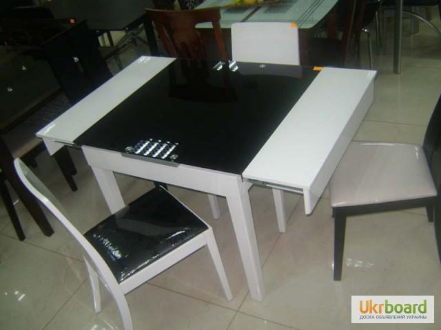 Фото 15. Столы и стулья. Теплота и свежесть от дизайна стеклянных столов