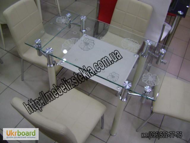 Фото 18. Столы и стулья. Теплота и свежесть от дизайна стеклянных столов