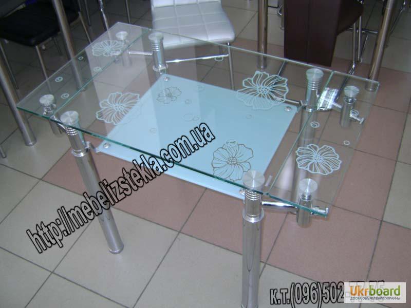 Фото 19. Столы и стулья. Теплота и свежесть от дизайна стеклянных столов