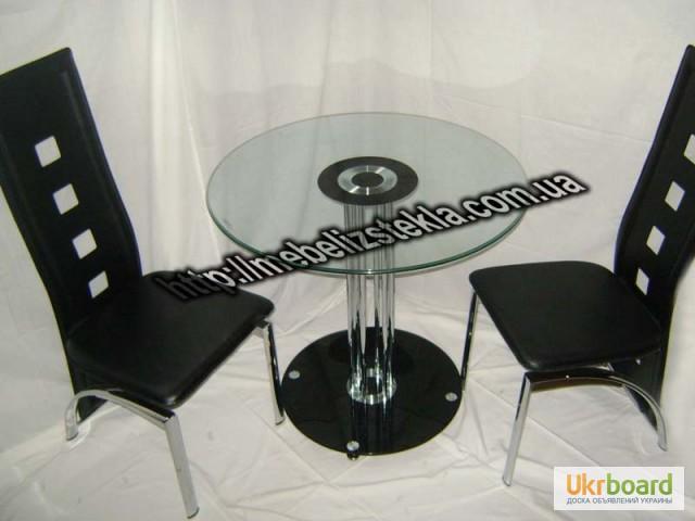 Фото 2. Столы и стулья. Теплота и свежесть от дизайна стеклянных столов