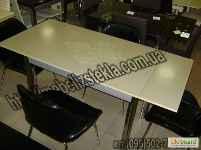 Фото 20. Столы и стулья. Теплота и свежесть от дизайна стеклянных столов