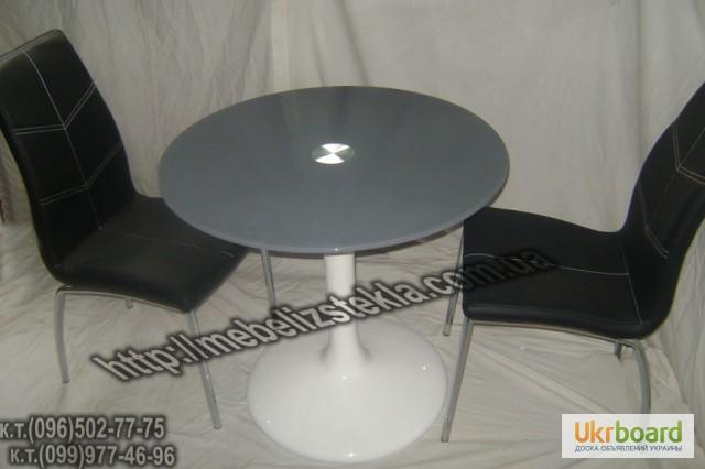 Фото 3. Столы и стулья. Теплота и свежесть от дизайна стеклянных столов