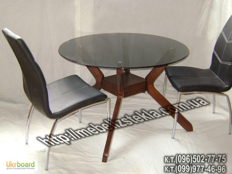 Фото 4. Столы и стулья. Теплота и свежесть от дизайна стеклянных столов