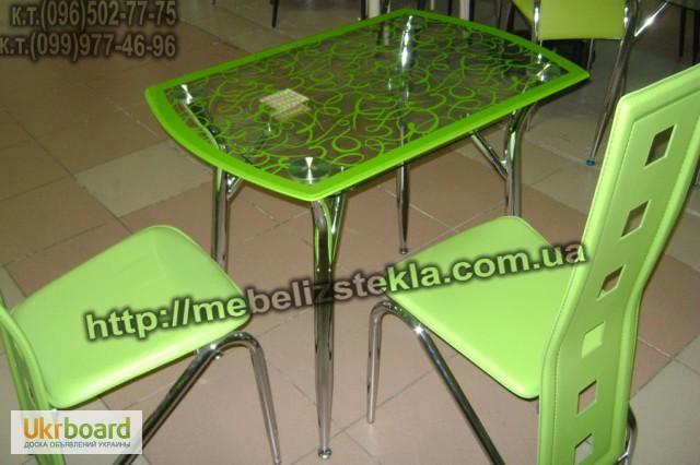 Фото 8. Столы и стулья. Теплота и свежесть от дизайна стеклянных столов