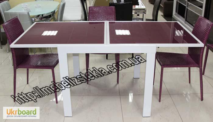 Фото 9. Столы и стулья. Теплота и свежесть от дизайна стеклянных столов