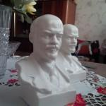 Фарфоровая статуэтка.Бюст Ленина
