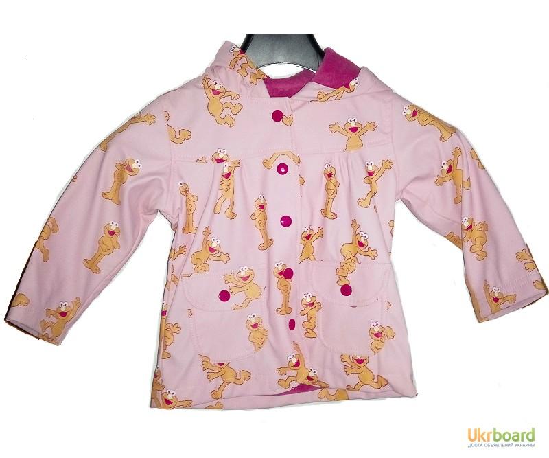Плащ-дождевик детский Hatley Улица Cезам 123 для девочки с подкладкой
