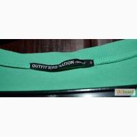 Футболка зеленая в горошек Outfitters Nation
