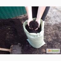 Доставка грунта (земли, чернозема) в мешках по цене 25грн в Запорожье