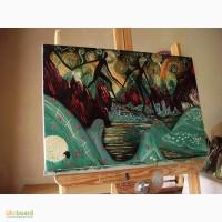 Картина маслом Чотири велетні 40х60