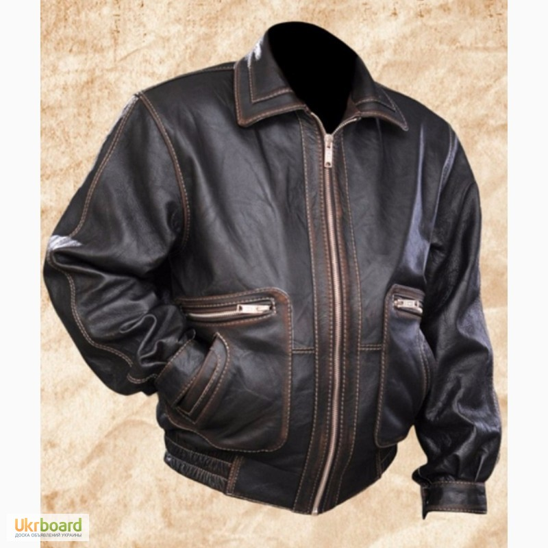 Продам купить мужская кожаная куртка