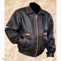 Мужская кожаная куртка Авиатор 2