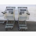 Торговые тележка 125 Л., тележки для покупателей, покупательские тележки