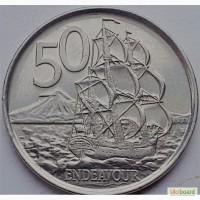 Новая Зеландия 50 центов 2006 год ОТЛИЧНАЯ