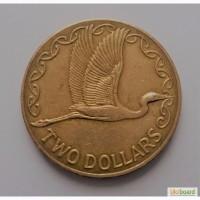 Новая Зеландия 2 доллара 1999 год