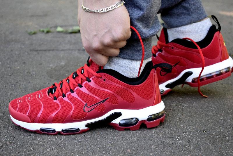 Nike Air Max TN Plus red кроссовки мужские найк аир макс тн плюс красные b70d16f527b53