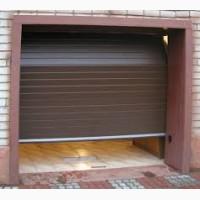 Секционные ворота в гараж на торсионных пружинах
