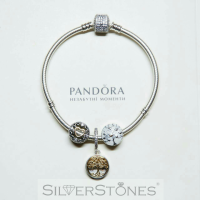 Скидки! Оригинал Pandora Пандора шарм бусина Дерево любви арт. 792106EN23