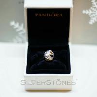 Оригинал Pandora Пандора шарм бусина Светящиеся сердца арт. 791879MOP