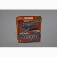 Сменные кассеты для бритья Gillette Fusion (2 шт)
