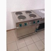 Плита электрическая с жарочным шкафом, индукционная, конвекционная ОБОРУДОВАНИЕ ДЛЯ КУХНИ