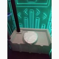 Биотуалет Зеленый Пластиковый