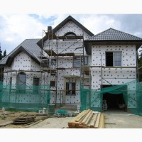 Фасадные работы в Одессе по лучшей цене. Вентилируемые фасады. Композит, сайтинг