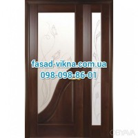 Красивые двери Амата купить с монтажом полуторные